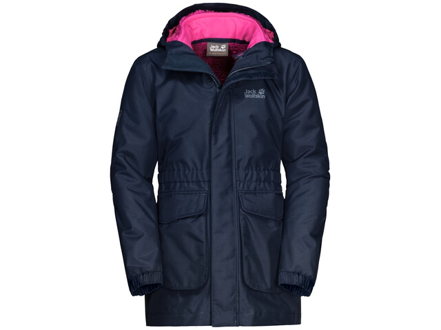the best attitude 4fd20 38f41 Jack Wolfskin Ice Cave 3In1 Jacke Mädchen midnight blue